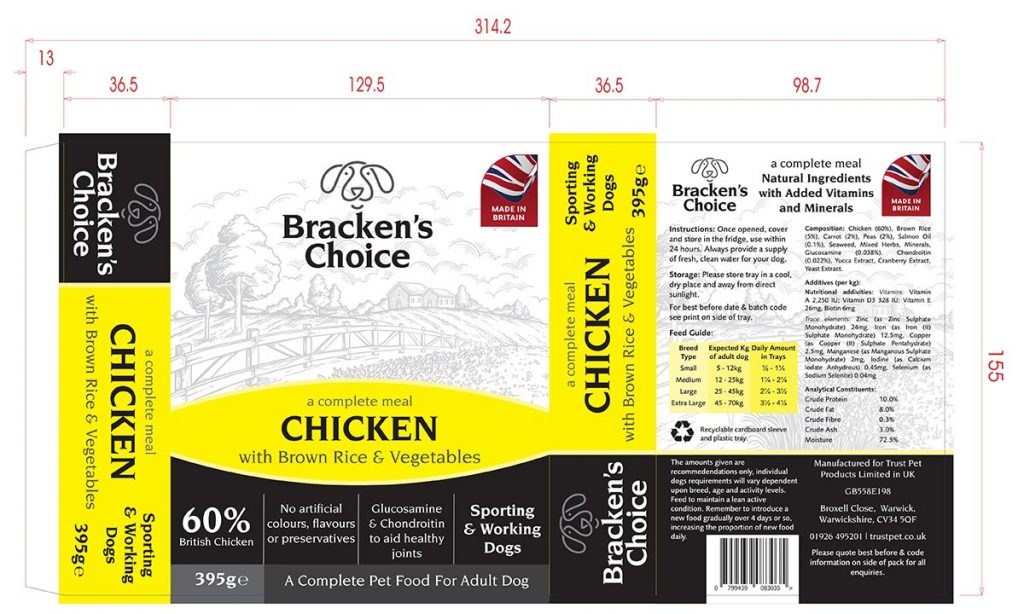 Brackens Choice Sports Chicken Sleeve