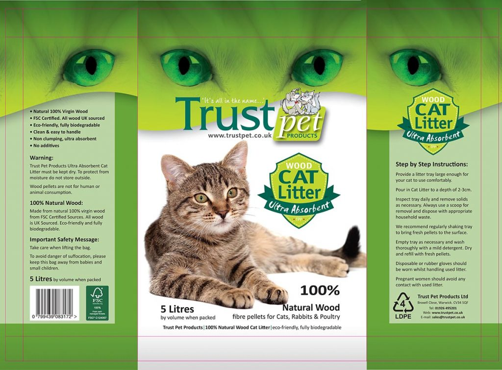 Trust Cat Litter 5L Bag