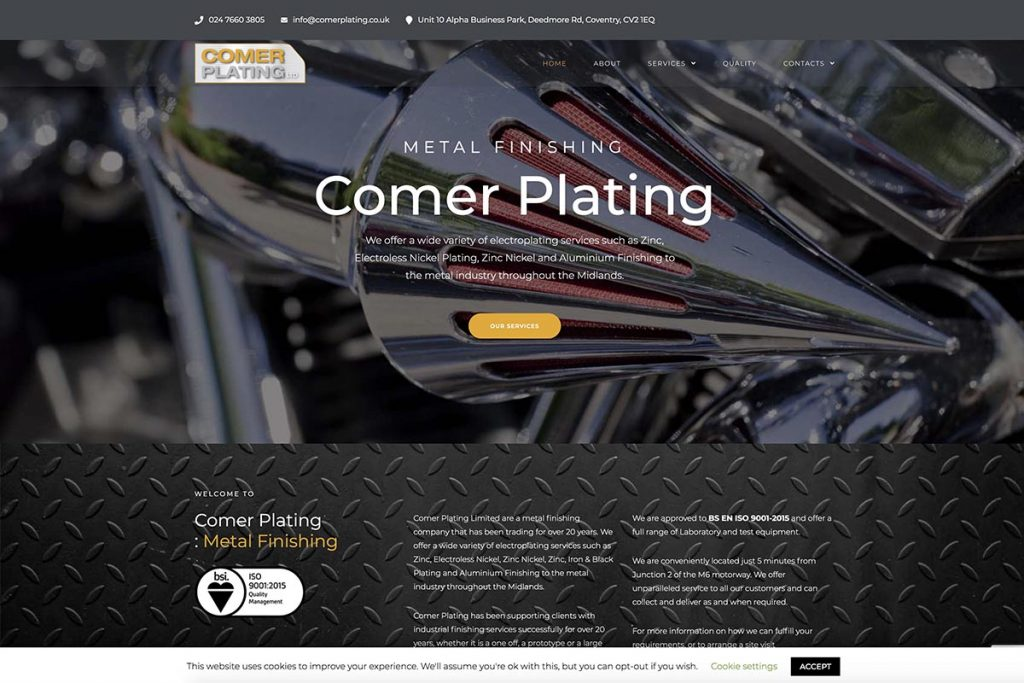 Comer Plating Coventry