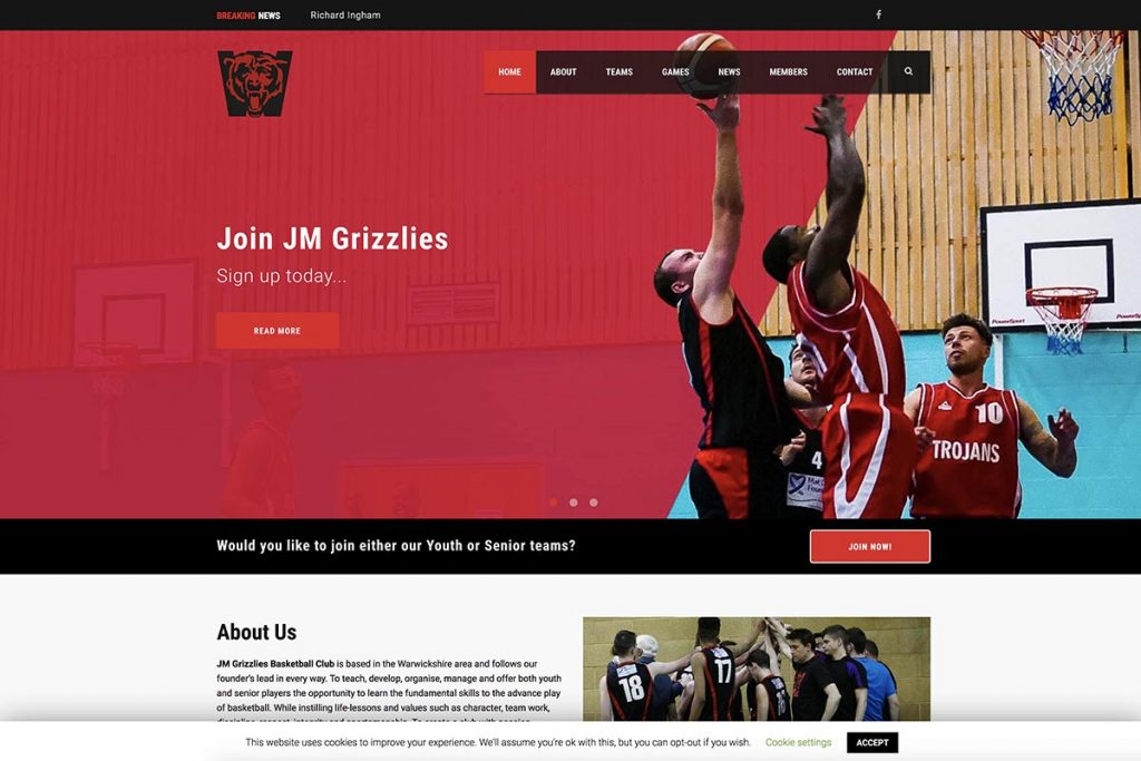 JMGrizzlies Basketball Club