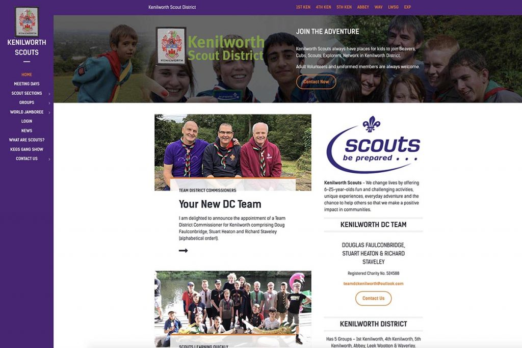 Kenilworth Scouts