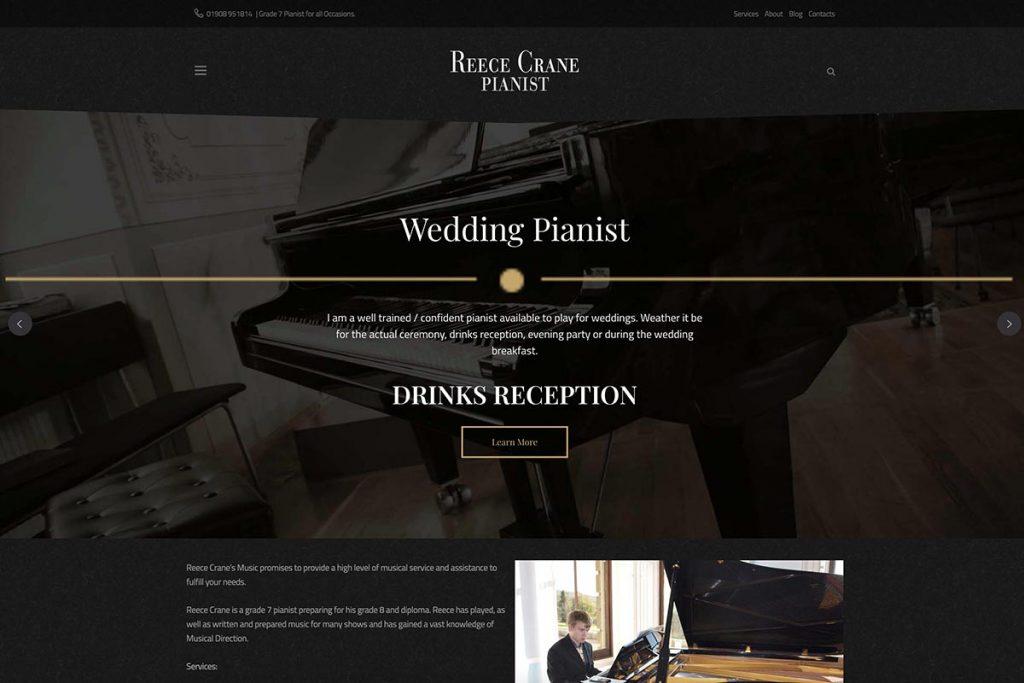 Reece Crane Pianist