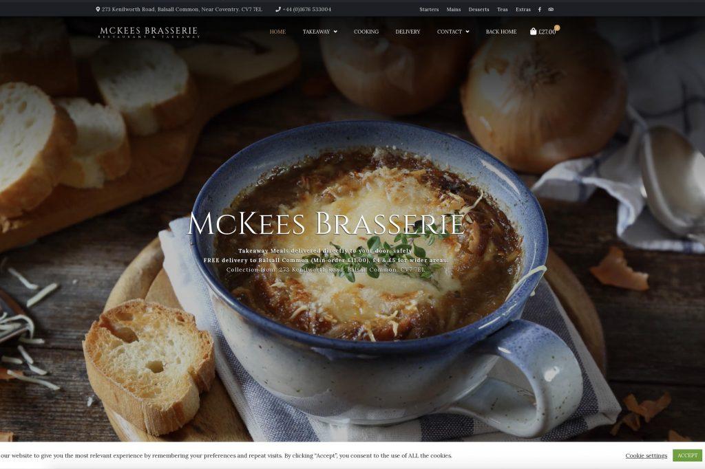 McKees Brasserie Takeaway
