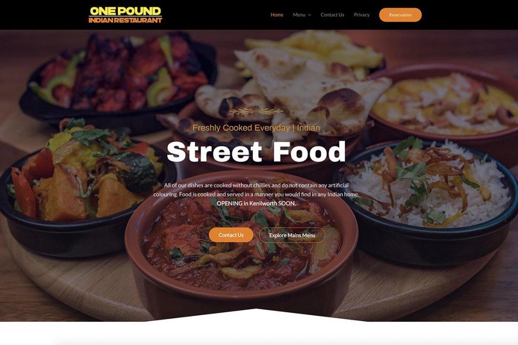 One Pound Indian Restaurant